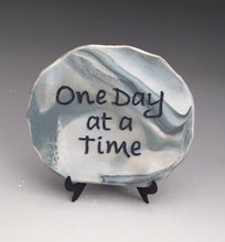 Load image into Gallery viewer, One Day at a Time - inspirational plaque