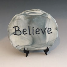 Load image into Gallery viewer, Believe - inspirational plaque