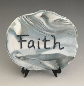 Faith- inspirational plaque