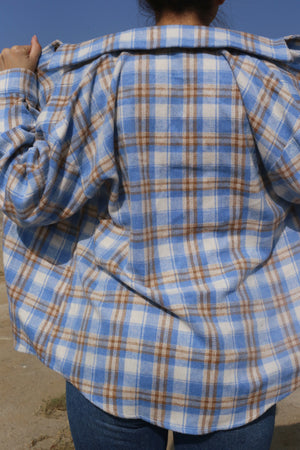 Nola Oversize Plaid Flannel