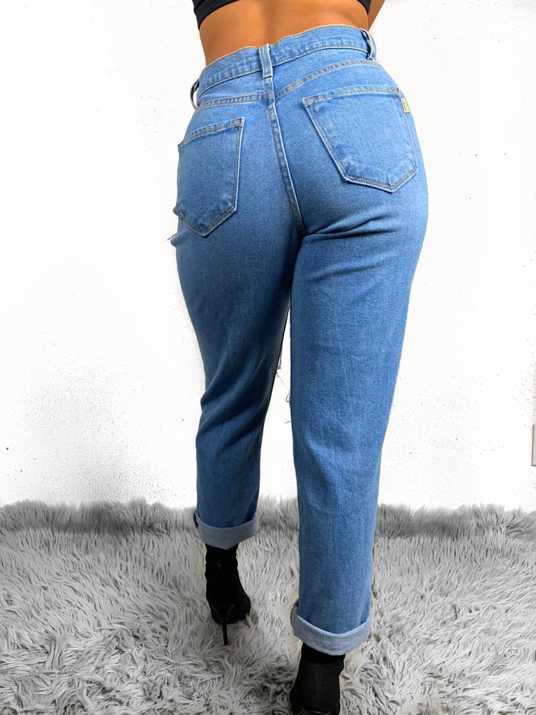 Hot Mama High-waisted Jeans