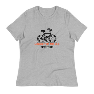 Ladies Premium Tee - Gratitude For Making It Up The Hill