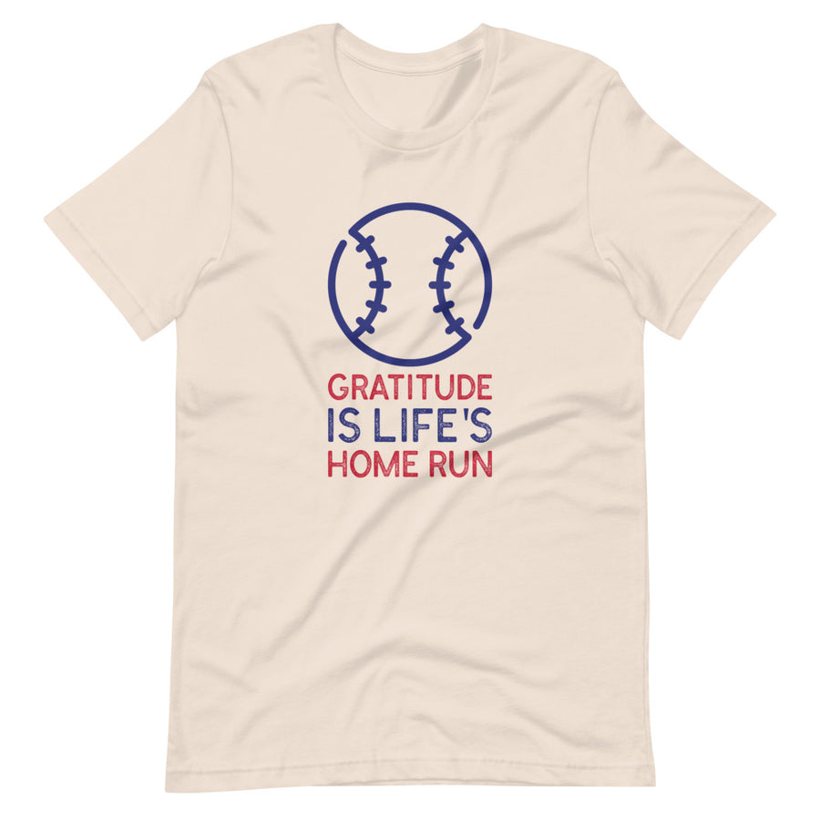 Men's Tee - Gratitude Is Life's Home Run