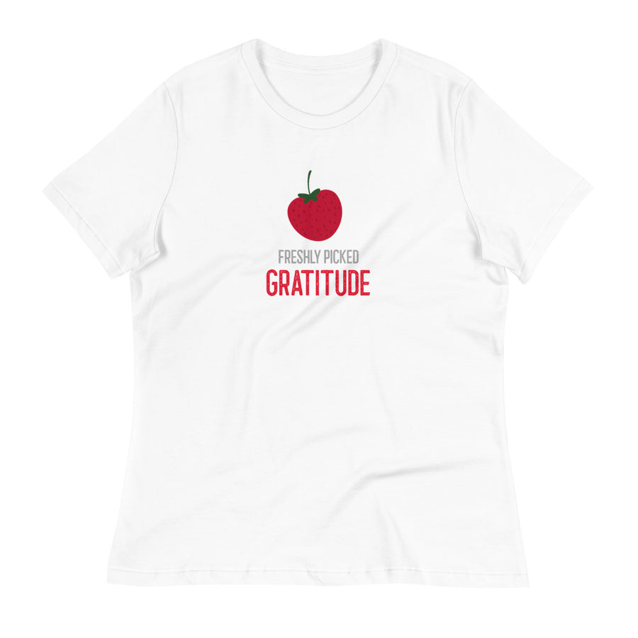 Ladies Premium Tee - Freshly Picked