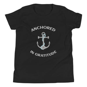 Youth Tee - Anchored in Gratitude