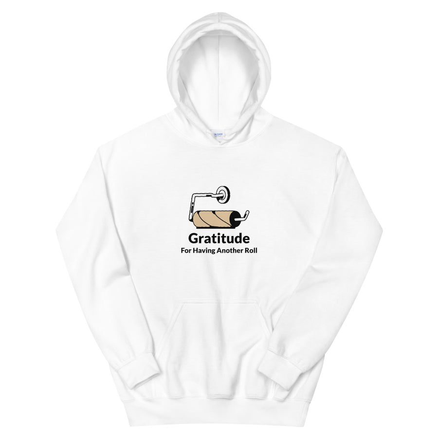 Unisex Heavy Blend Hoodie - Gratitude For Another Roll