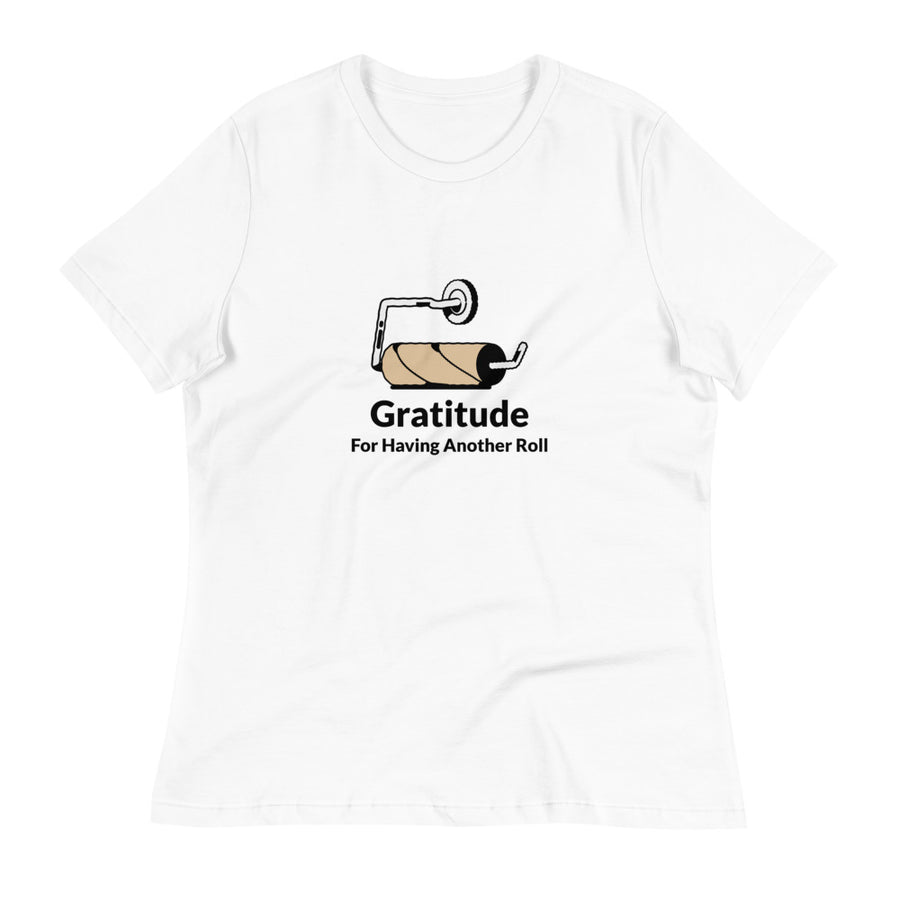 Ladies Premium Tee - Gratitude For Having Another Roll