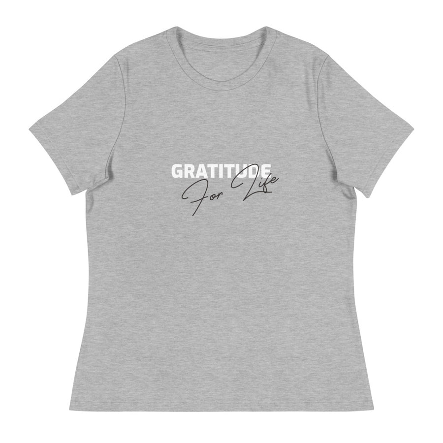 Ladies Premium Tee - Gratitude For Life