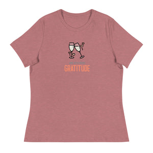 Ladies Premium Tee - Wine With Friends