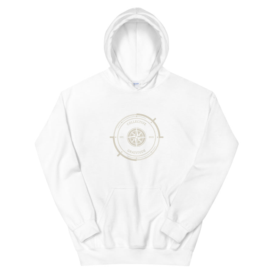 Unisex Heavy Blend Hoodie - Light Classic Collective Gratitude Logo