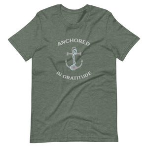 Men's Tee - Anchored With Gratitude