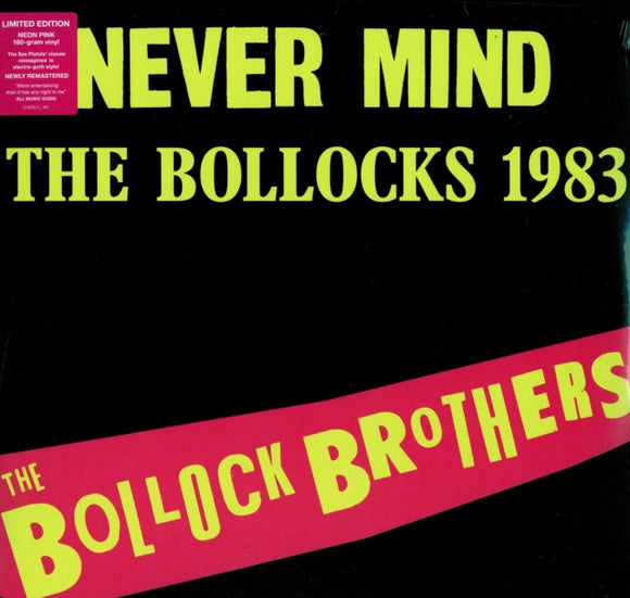 Bollock Brothers<br>Never Mind The Bollocks