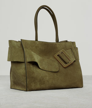 BOBBY SOFT SUEDE GOLDEN GREEN