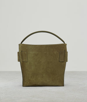 DEVON SOFT SUEDE GOLDEN GREEN