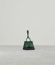 KARL CHARM WITH STRAP TWO-TONE BOTTLE GREEN / BLACK