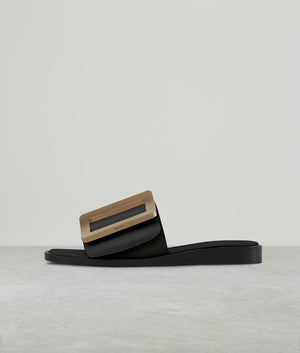 SANDAL (GOLD BUCKLE)