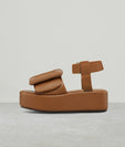 PUFFY SANDAL PLATFORM ANKLE STRAP(CR20)