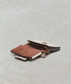 ROMEO WALLET WITH STRAP ROSE
