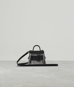 KARL SURREAL CRYSTAL FRINGE WITH STRAP