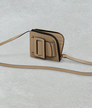 BUCKLE CARD HOLDER WITH STRAP BEACH