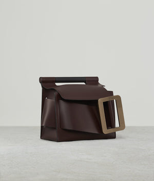 ROMEO GOLD BUCKLE BORDEAUX