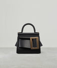 KARL 19 (GOLD BUCKLE)  BLACK