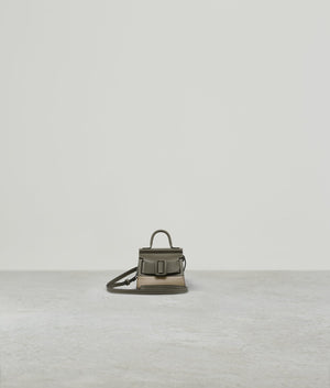 KARL CHARM WITH STRAP TWO-TONE KALAMATA / ECRU