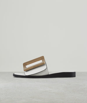 SANDAL (GOLD BUCKLE) BIRCH