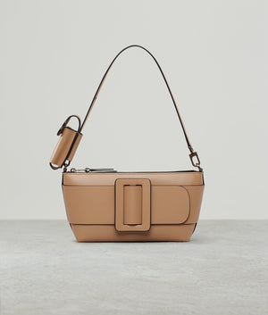 BUCKLE POUCHETTE LEATHER BUCKLE GINGER