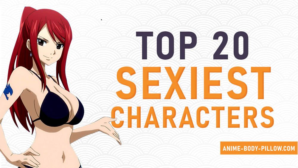 Top 20 sexiest characters