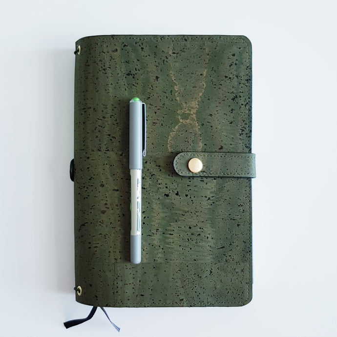 Double-sided Cork Leather Journal