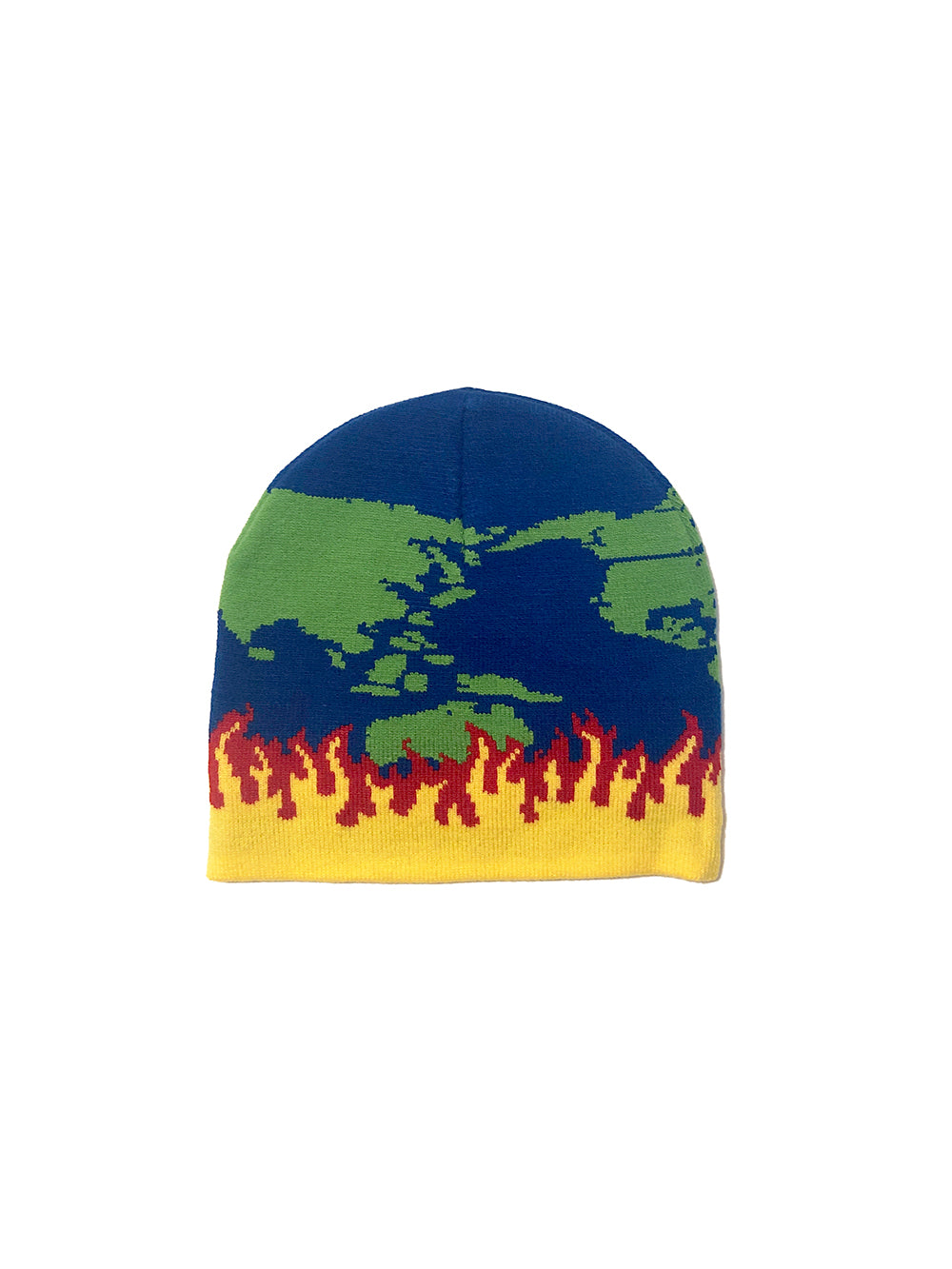 WORLD ON FIRE BEANIE