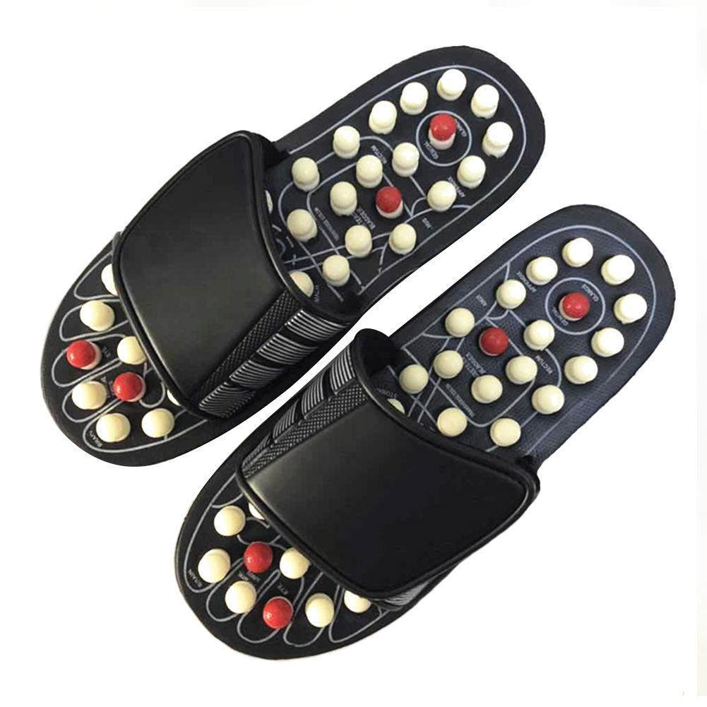 Acupuncture Massage Foot Reflexology Slippers - ShopLateTonight