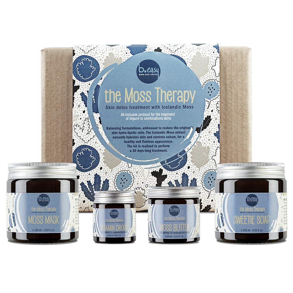 The Moss Therapy Kit - Trattamento per pelli miste e impure