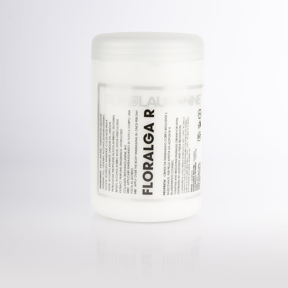 Firming body massage cream