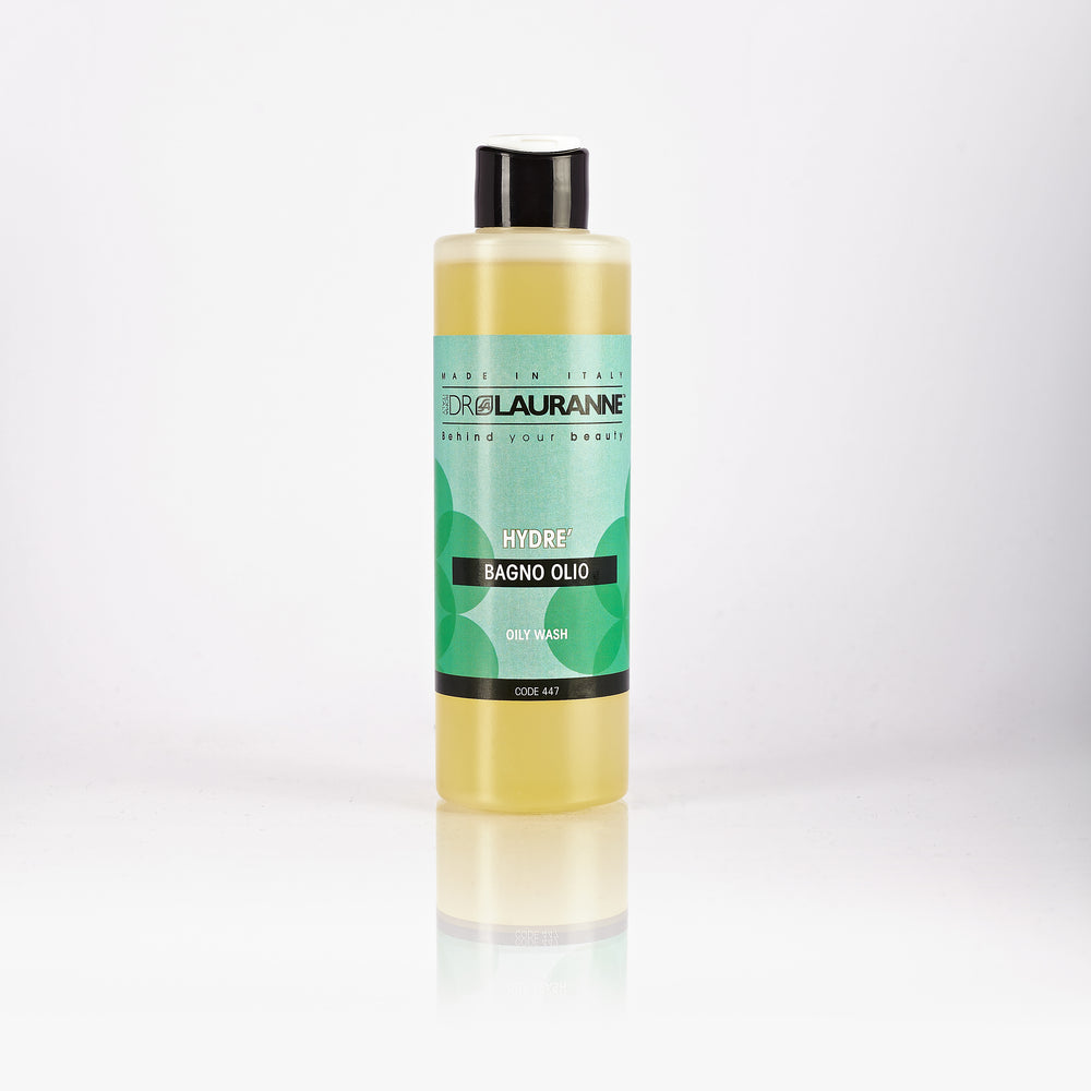 Cleansing oil for cracked and reactive skin