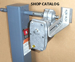 Image of economy priced 12 volt add on motor kit for 12K gooseneck jacks