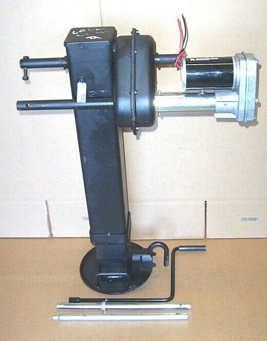 Image of electric motor conversion kit for Holland BBinkley 2 speed gooseneck landing legs