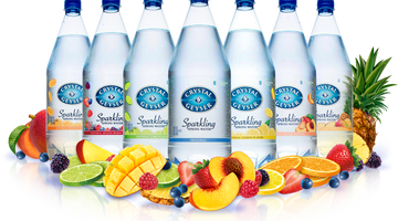 10 Healthy Snack Options to Enjoy with Crystal Geyser® Sparkling Water