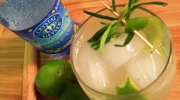 Roll Out the Red Carpet with this Rosemary Limeade Mocktail