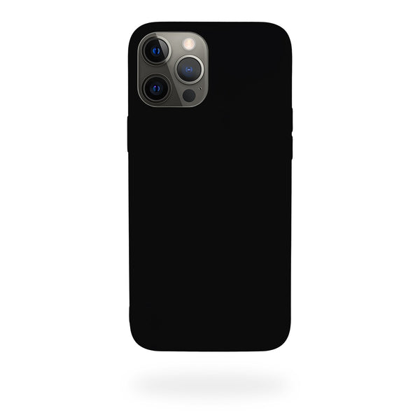 Black Silicone Case iPhone