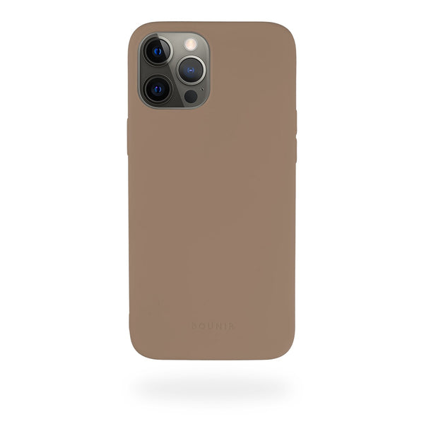 Brown Silicone Case iPhone