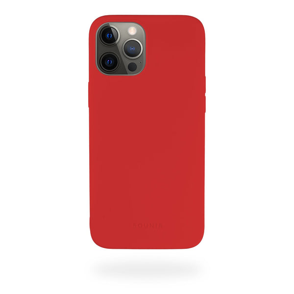 Red Silicone Case iPhone
