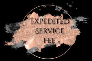 EXPEDITED SERVICE FEE