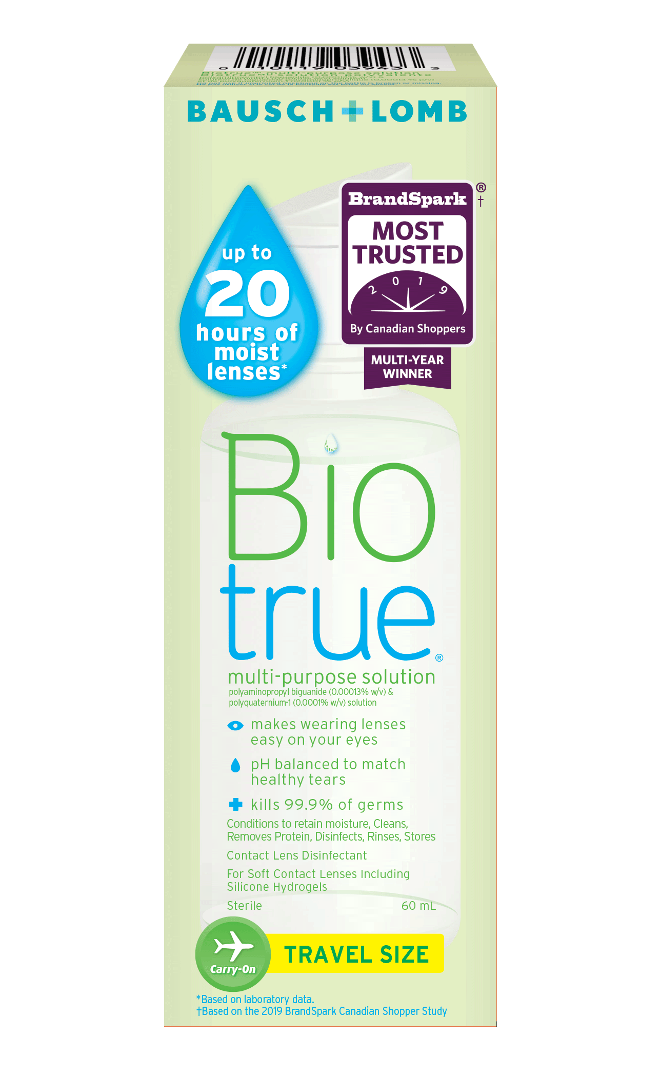 Bausch and Lomb Biotrue Contact Solution