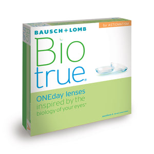 Bausch and Lomb BioTrue 1 day Toric