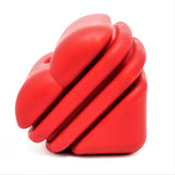 Heart on a String Rubber Dog Toy and Reward Toy