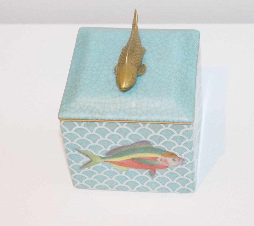 Fish Trinket Box - Abode Bazaar