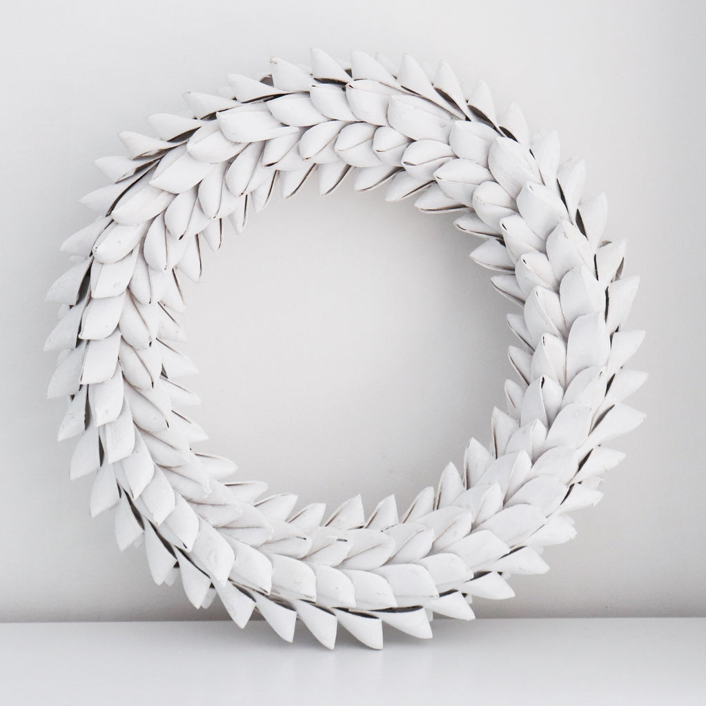White Wreath - Abode Bazaar