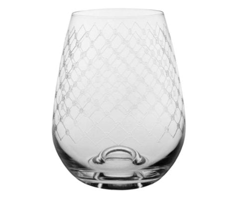 Wine Glass - Fishnet - Abode Bazaar